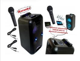 hordozható karaoke szett