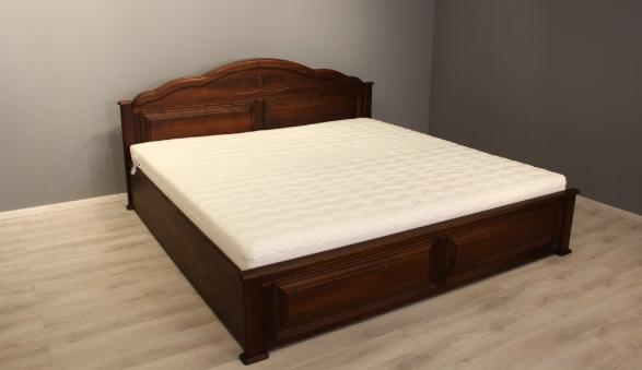 tömörfa ágy